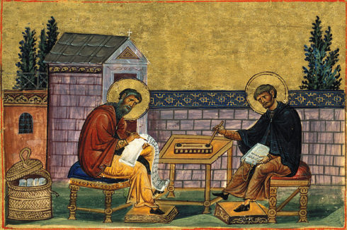 St. John of Damascus and St. Cosmas Bishop of Maiouma