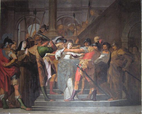 The Martyrdom of St. Agnes of Rome