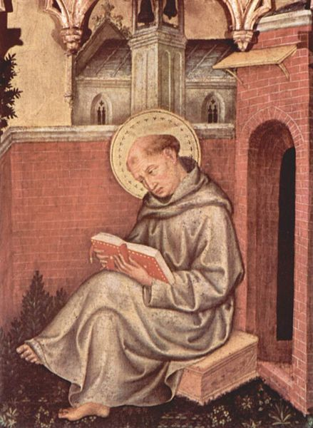Painting of St. Thomas by Gentile da Fabriano