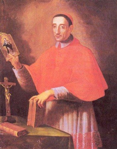 St. Joseph Maria Tomasi (1649-1713) Cardinal, from the Order of Theatine Regular Clerics