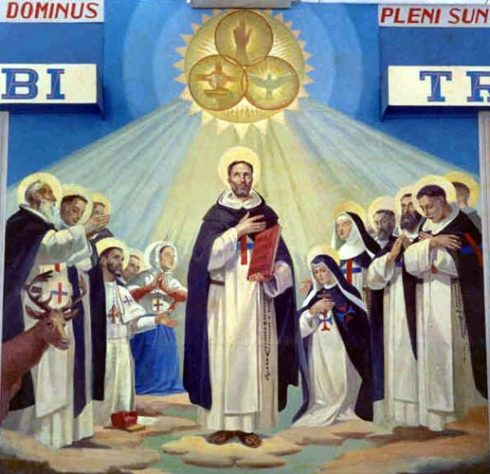 St. John of Matha and other Saints of the Order of the Most Holy Trinity.