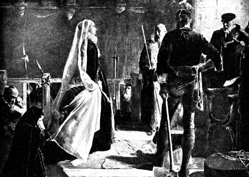 Mary, Queen of Scots, Executed Fotheringay Castle, February 8, 1587