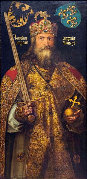 Charlemagne, painted by Albrecht Dürer