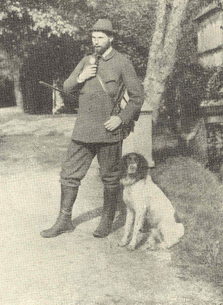 Bl. Clemens August von Galen in 1899 after a hunt.