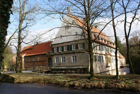 The von Galen family home in Burg Dinklage.