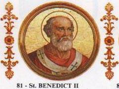 Pope St. Benedict II