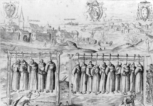 The Martyrdom of the Carthusians.