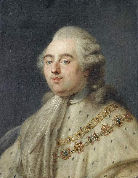 Portrait of King Louis XVI of France, painted by Antoine-François Callet.