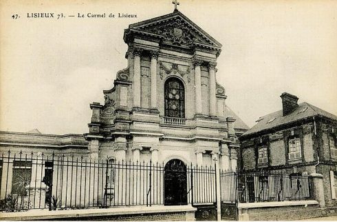 The Carmelite Monastery in Lisieux that St. Thérèse entered.