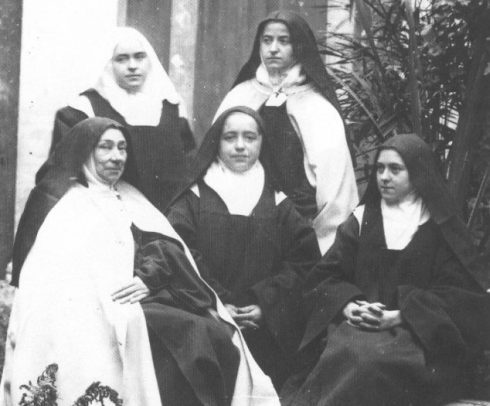Photo taken on November 20th, 1894 of the Lisieux Sisters.