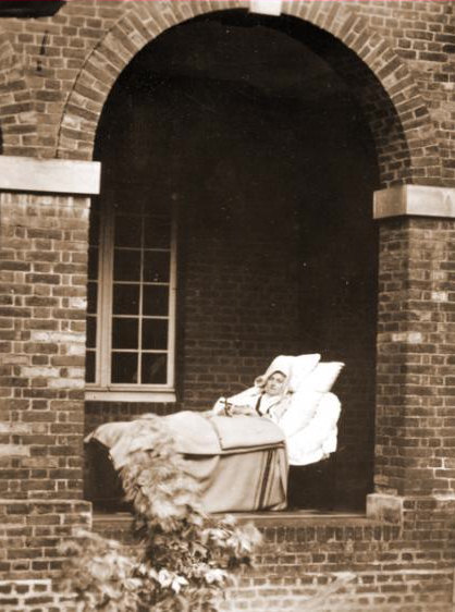 Photo taken of St. Thérèse shortly before her death.