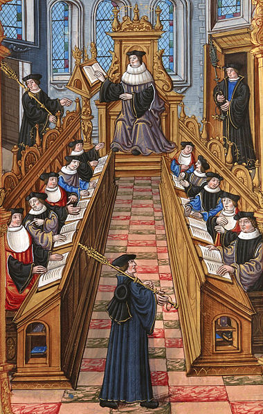 Condemnations of 1210–1277 at the University of Paris.