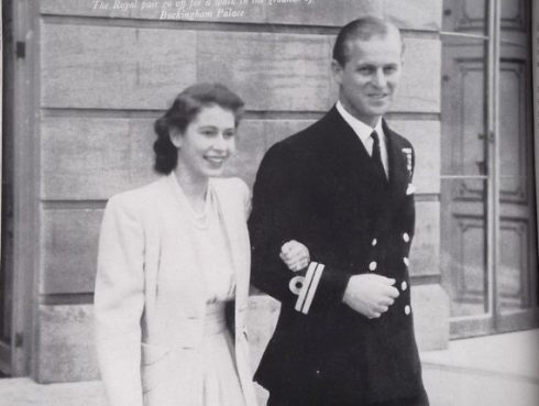HRH Princess Elizabeth and Prince Philip