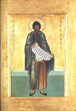 Saint Nilus of Sinai