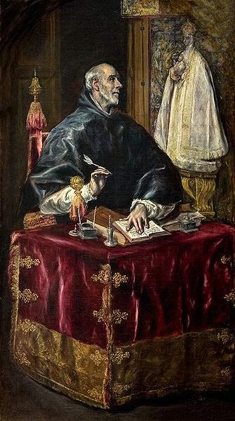 St. Ildephonsus of Toledo by Greco