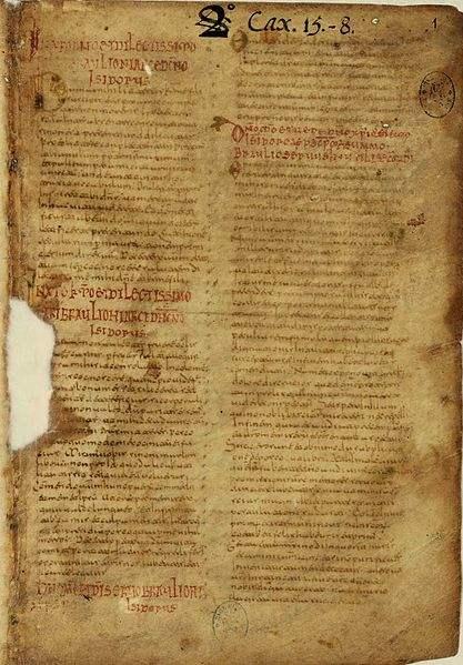 Etymologiae Codex Toletanus