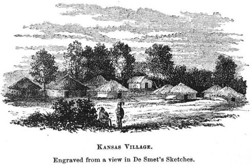 Kansas Indian village