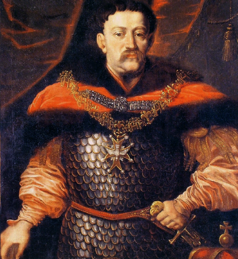 Painting of John III Sobieski by Daniel Schultz