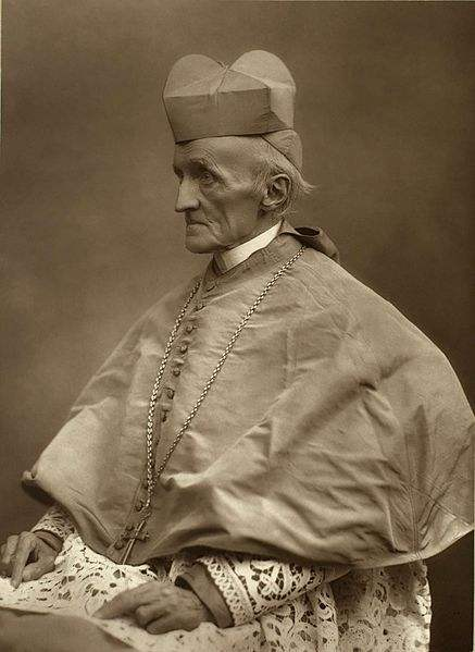 Cardinal Henry Edward Manning, Archbishop of Westminster.