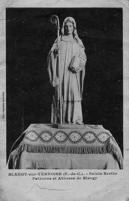 St. Bertha Abbess of Blangy