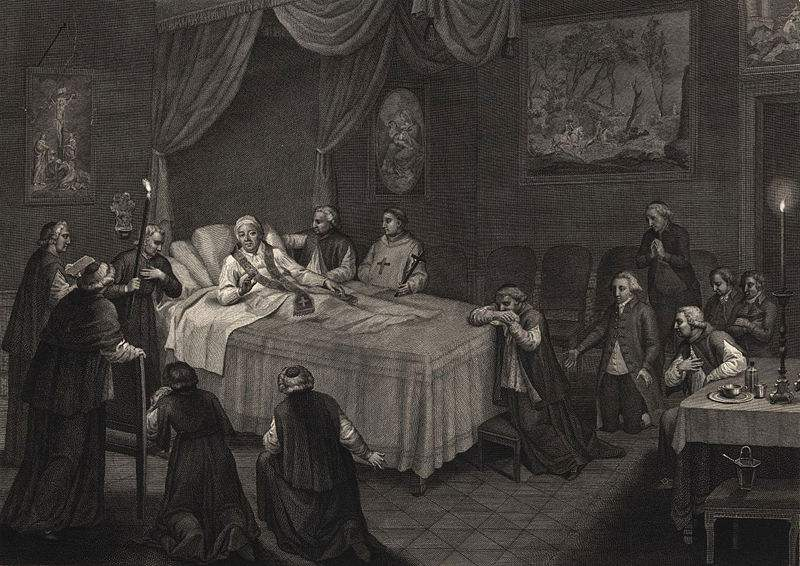 Death of Pope Pius VI