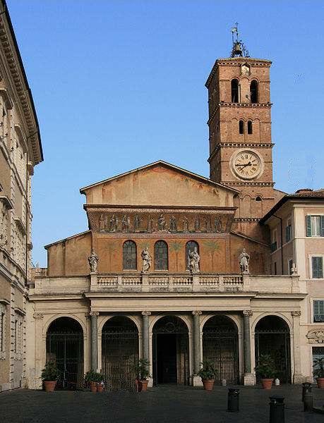 Santa Maria in Trastevere, Rome.
