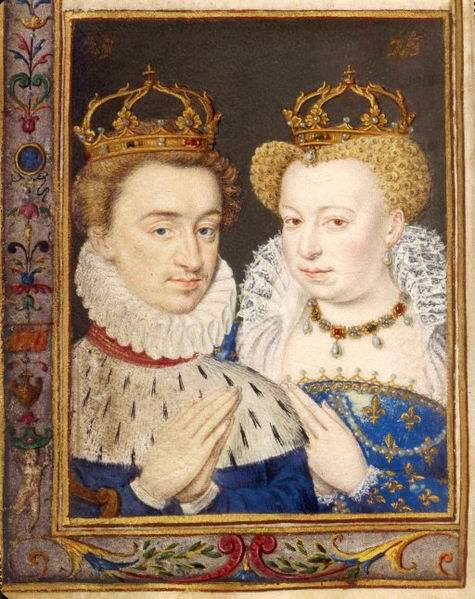 Henry of Bourbon and Margaret of Valois