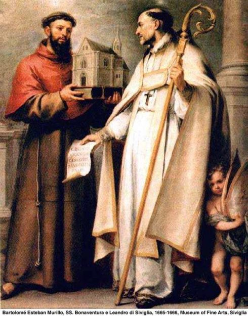 St. Bonaventure and St. Leander of Seville