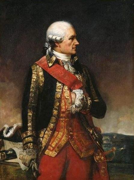Jean-Baptiste Donatien de Vimeur, painted by Charles-Philippe Larivière