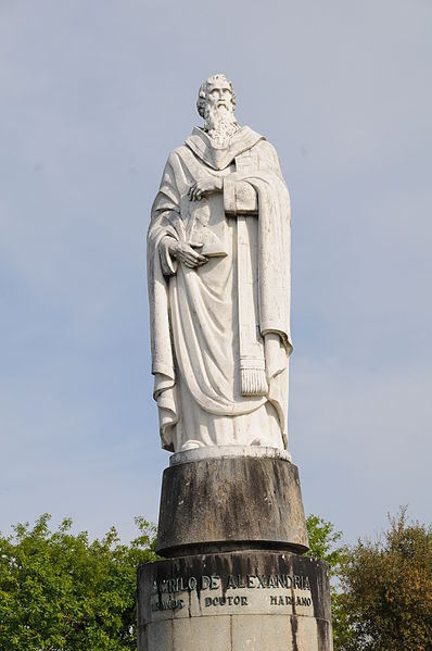 Statue of St. Cyril of Alexandria in Braga, Portugal. Photo by Joseolgon