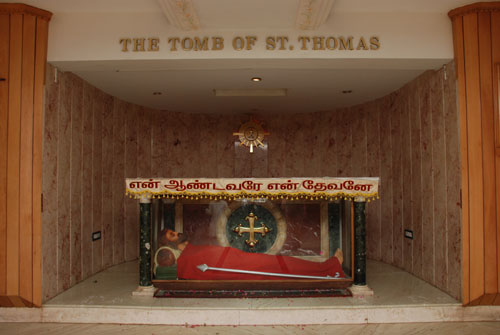 Tomb of St. Thomas the Apostle