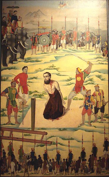 Matyrdom of Saint Pierre Borie