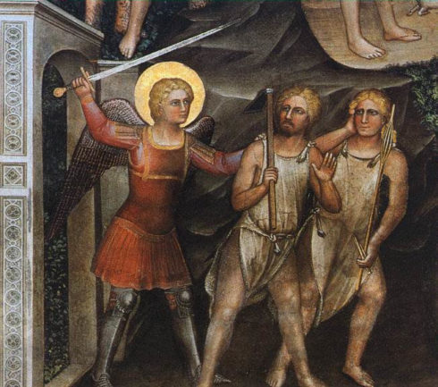 The Expulsion from Paradise by Giusto de' Menabuoi.