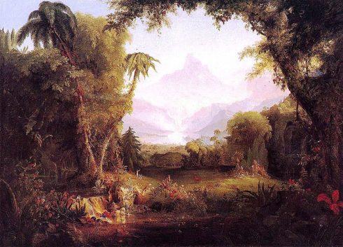 The Garden of Eden by Thomas Cole.