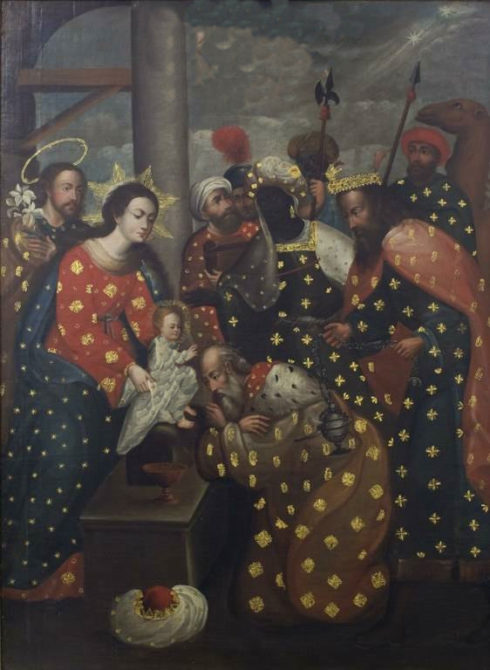 The Adoration of the Magi c. 1700, Anonymous