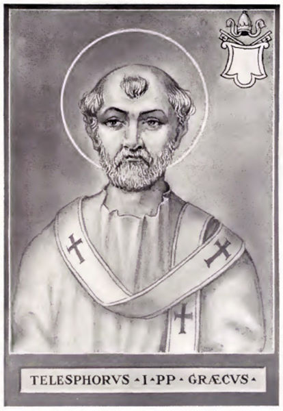 Pope St. Telesphorus