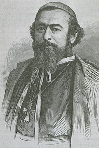 Bishop Adrien-Hippolyte Languillat, S.J. (1808-1878), vicar apostolic of Southeastern Chi-Li and Kiangnan.