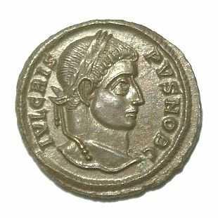 Flavius Julius Crispus, first-born son of Constantine I the Great.