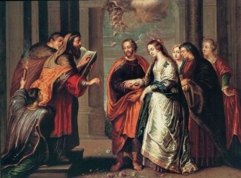 The Wedding of the Virgin Mary and St. Joseph