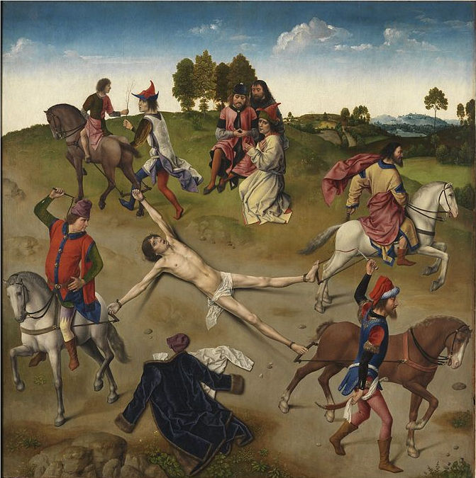 Martyrdom of St Hippolyte by Dieric Bouts and Hugo van der Goes