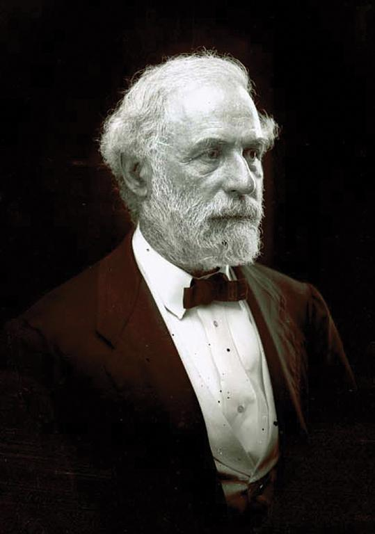 Robert E. Lee in 1870.