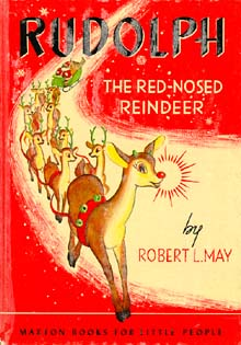 Cover of one of the 1939 books of the Robert L. May story by Maxton Publishers, Inc.