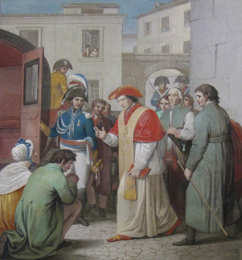 How Napoleon S Man Arrested The Pope Nobility And